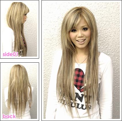 Beau degrade sur cheveux long