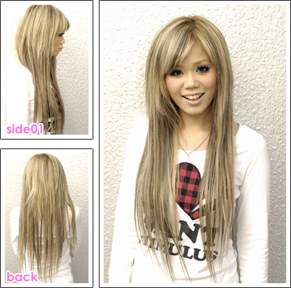 Coupe cheveux long tres degrade