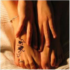 tatouage tattoo tribal gallery » tattoo fleur tatouage cheville